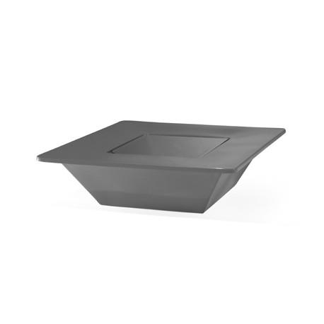 Pot Bench, Slide Design gris Grand modèle