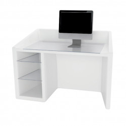 Kanal bureau, Slide Design blanc