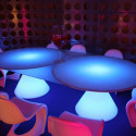 Table lumineuse ED II, Slide Design blanc