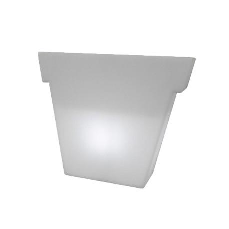 Pot Il Vaso lumineux, Slide Design blanc Petit modèle