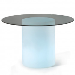 Table lumineuse Arthur, Slide Design blanc