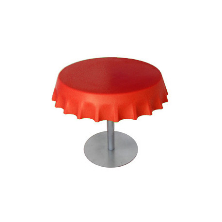 Fizzz table basse ronde design slide design rouge - Table basse ronde rouge ...