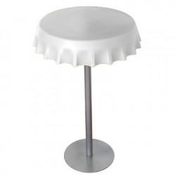 Table haute Fizzz, Slide Design blanc