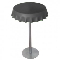 Table haute Fizzz, Slide Design gris