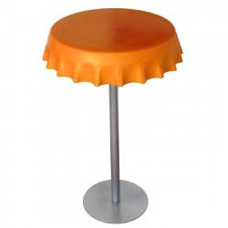 Table haute Fizzz, Slide Design orange