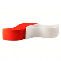 Banc Wave, Slide Design rouge