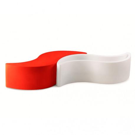 Banc Wave, Slide Design rouge