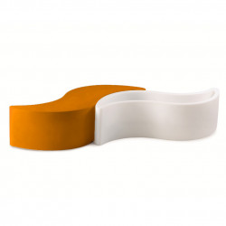 Banc Wave, Slide Design orange