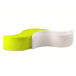 Banc Wave, Slide Design jaune