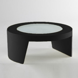 Table basse Tao, Slide Design noir