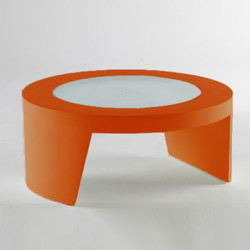 Table basse Tao, Slide Design orange