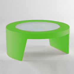 Table basse Tao, Slide Design vert