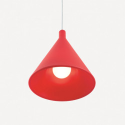 Suspension Juxt, Slide Design rouge