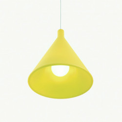 Suspension Juxt, Slide Design jaune