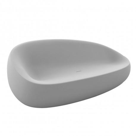 Canapé Stone, Vondom gris acier