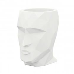 Pot Adan, Vondom blanc, 49 x 68 x Hauteur 70 cm laqué