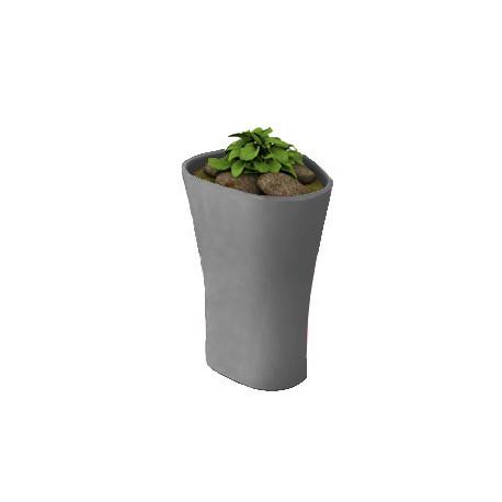 Pot Bones H 70 cm, Vondom anthracite