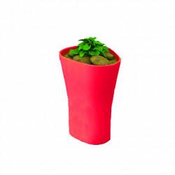 Pot Bones H 70 cm, Vondom rouge