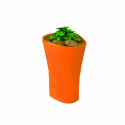 Pot Bones H 70 cm, Vondom orange