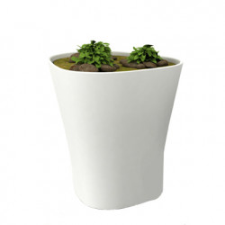 Pot Bones H 120 cm, Vondom blanc