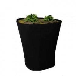 Pot Bones H 120 cm, Vondom noir
