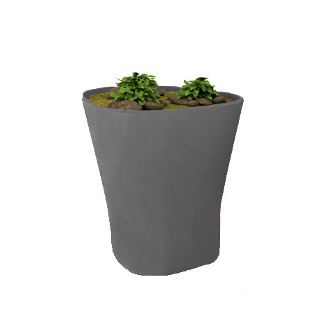 Pot Bones H 120 cm, Vondom anthracite