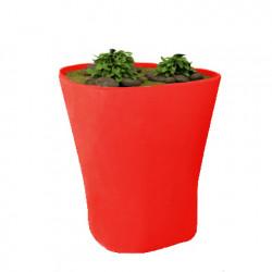 Pot Bones H 120 cm, Vondom rouge