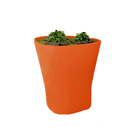 Pot Bones H 120 cm, Vondom orange