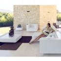 Fauteuil Vela, Vondom blanc, 100x100xH72 cm