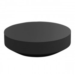 Table basse design ronde Vela, Vondom anthracite