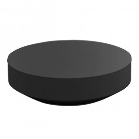 Table basse design ronde Vela, Vondom anthracite