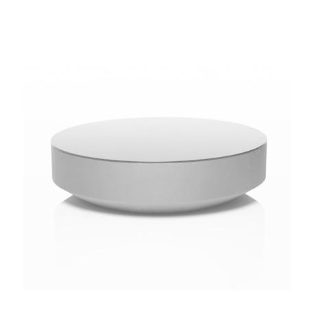 Table basse design ronde Vela, Vondom blanc