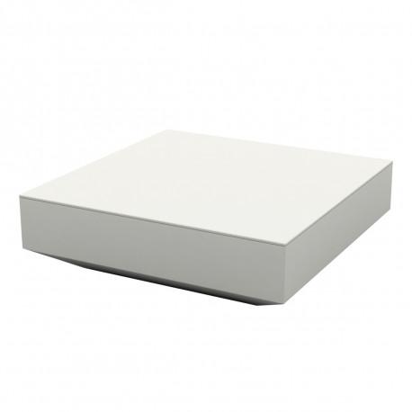 Table basse lumineuse carrée Vela, vondom blanc