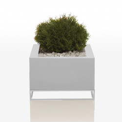 Jardinière Vela H 40 cm, Vondom blanc