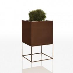 Pot Vela Cubo H70, Vondom bronze