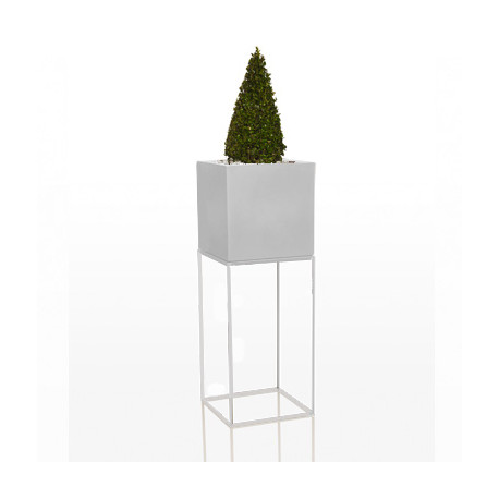 Pot Vela Cubo H100, Vondom blanc