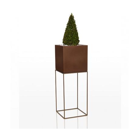 Pot Vela Cubo H100, Vondom bronze