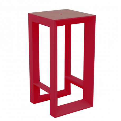 Tabouret de bar Frame, Vondom rouge