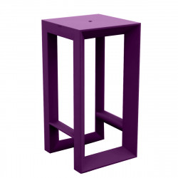 Table haute Frame, Vondom violet
