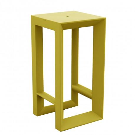 Table haute Frame, Vondom pistache