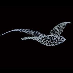 Oiseau à suspendre Birds, Magis Me too blanc Petit modèle