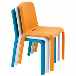 Chaise Snow 300, Pedrali orange