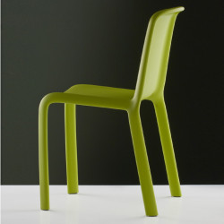 Chaise Snow 300, Pedrali vert