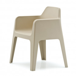 Plus 630 fauteuil, Pedrali sable