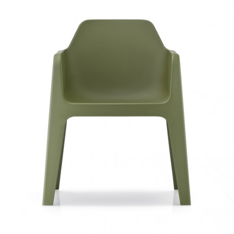 Plus 630 fauteuil, Pedrali vert