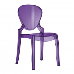 Queen 650 chaise design, Pedrali violet