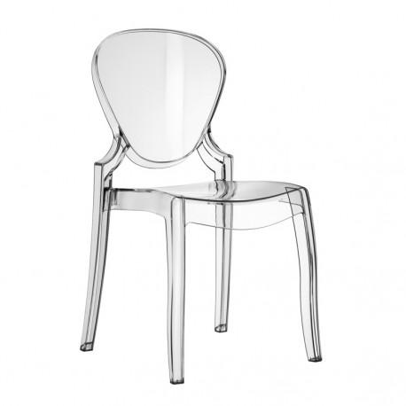 Queen 650 Chaise Design Pedrali Transparent