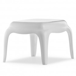 Table basse Pasha 661, Pedrali blanc