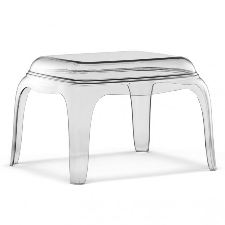 Table basse Pasha 661, Pedrali transparent