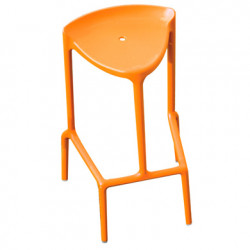 Happy 490 tabouret, Pedrali orange